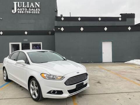 2016 Ford Fusion for sale at Julian Auto Sales, Inc. in Warren MI
