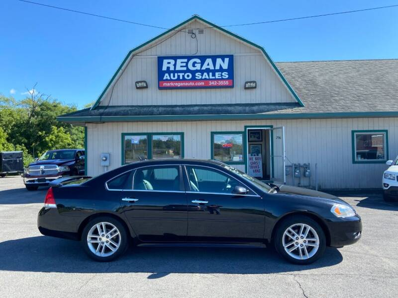 2013 Chevrolet Impala for sale at Mark Regan Auto Sales in Oswego NY