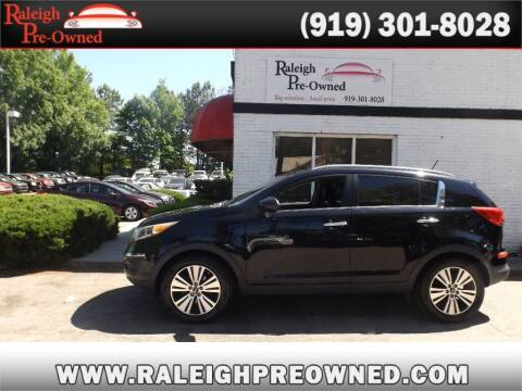 2016 Kia Sportage for sale at Raleigh Pre-Owned in Raleigh NC