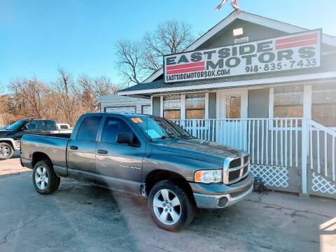 2004 Dodge Ram Pickup 1500 for sale at EASTSIDE MOTORS in Tulsa OK