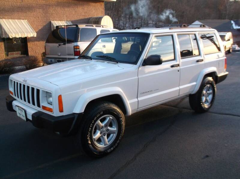 1999 Jeep Cherokee for sale at Depot Auto Sales Inc in Palmer MA