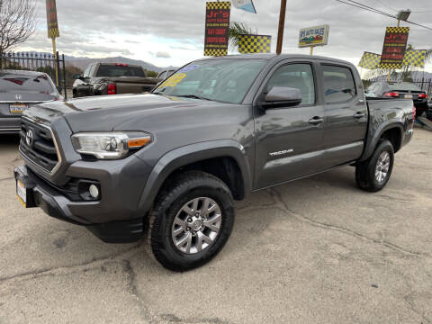 2016 Toyota Tacoma for sale at JR'S AUTO SALES in Pacoima CA