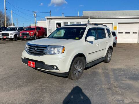 2014 Honda Pilot for sale at AutoMile Motors in Saco ME