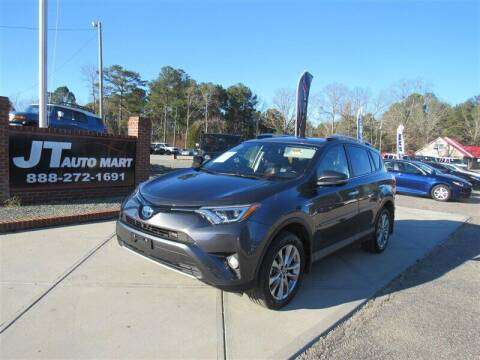 2016 Toyota RAV4 Hybrid for sale at J T Auto Group in Sanford NC