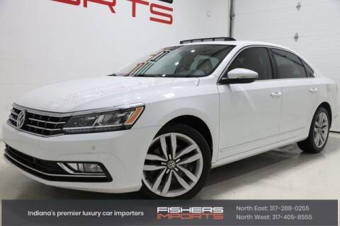 2017 Volkswagen Passat for sale at Fishers Imports in Fishers IN