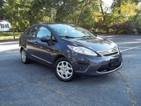 2012 Ford Fiesta for sale at CORTEZ AUTO SALES INC in Marietta GA