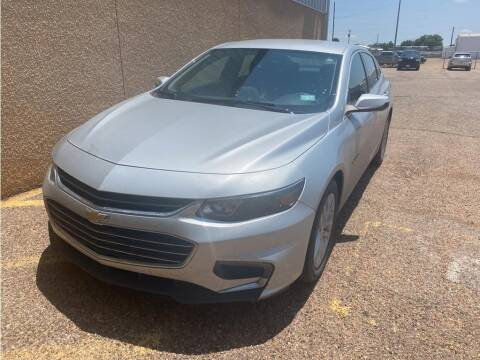 2018 Chevrolet Malibu for sale at STANLEY FORD ANDREWS in Andrews TX