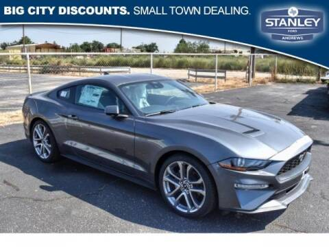 2021 Ford Mustang for sale at STANLEY FORD ANDREWS in Andrews TX