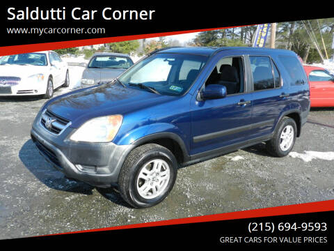 2004 Honda CR-V for sale at Saldutti Car Corner in Gilbertsville PA