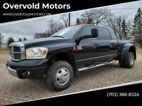 2008 Dodge Ram Pickup 3500 for sale at Overvold Motors in Detriot Lakes MN