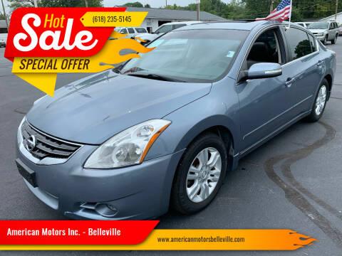 2012 Nissan Altima for sale at American Motors Inc. - Belleville in Belleville IL