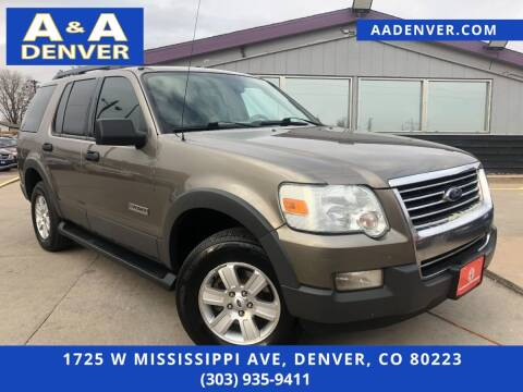 2006 Ford Explorer for sale at A & A AUTO LLC in Denver CO