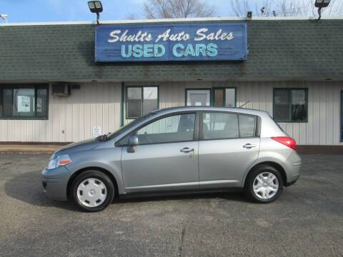2011 Nissan Versa for sale at SHULTS AUTO SALES INC. in Crystal Lake IL