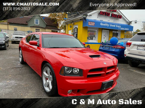 2009 Dodge Charger for sale at C & M Auto Sales in Detroit MI