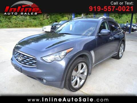 2009 Infiniti FX50 for sale at Inline Auto Sales in Fuquay Varina NC