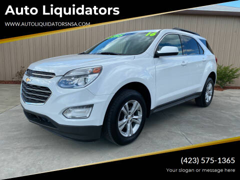 2016 Chevrolet Equinox for sale at Auto Liquidators in Bluff City TN