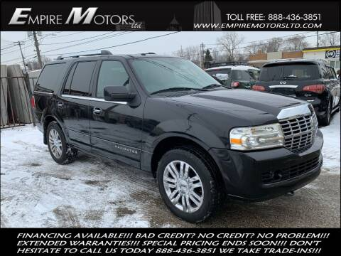 2010 Lincoln Navigator for sale at Empire Motors LTD in Cleveland OH