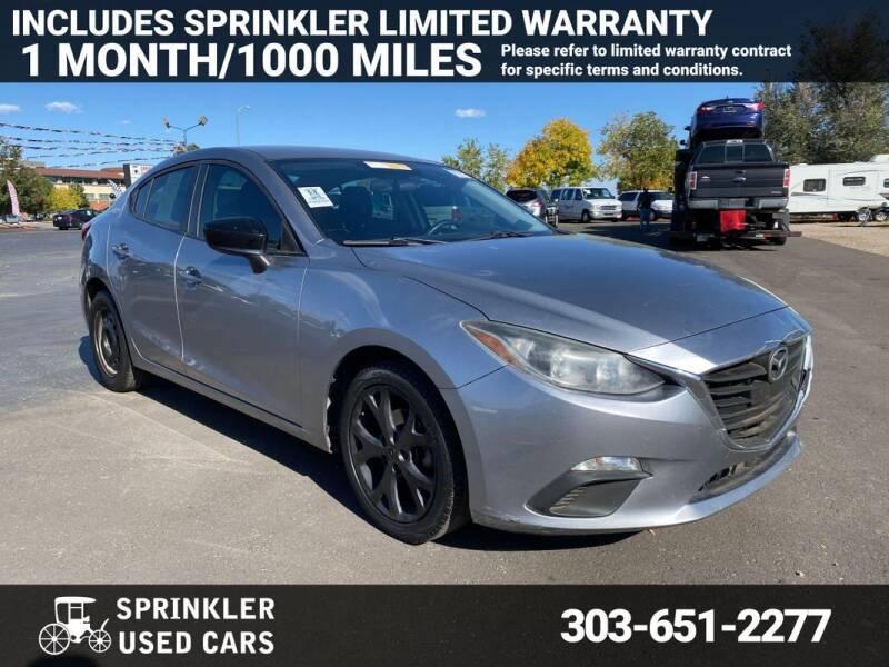 2015 Mazda MAZDA3 for sale at Sprinkler Used Cars in Longmont CO