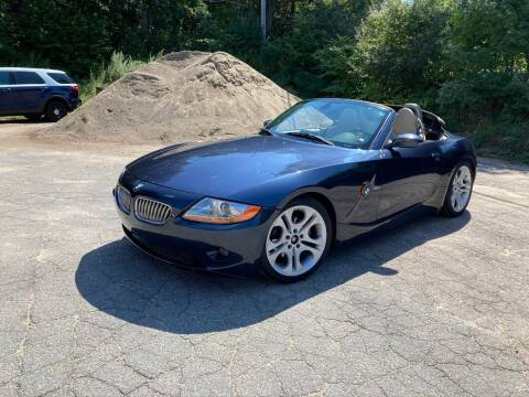 2004 BMW Z4 for sale at Velocity Motors in Newton MA