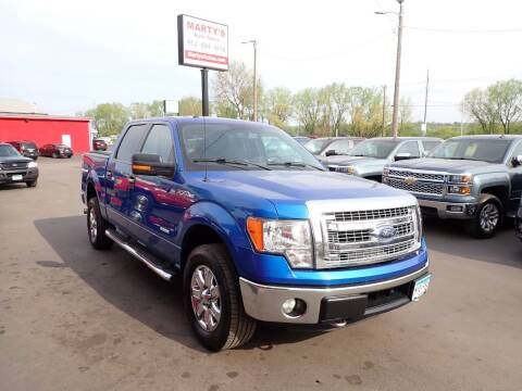 2014 Ford F-150 for sale at Marty's Auto Sales in Savage MN