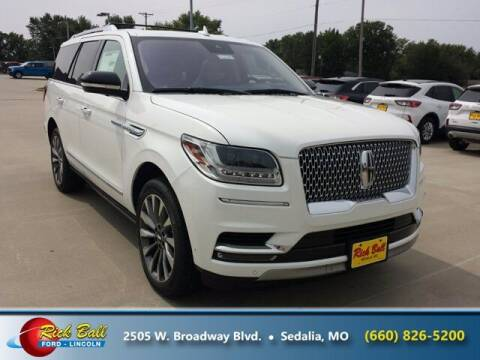 2020 Lincoln Navigator for sale at RICK BALL FORD in Sedalia MO