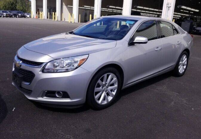 2014 Chevrolet Malibu for sale at Father & Sons Auto Sales in Leeds NY