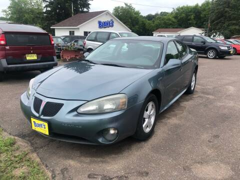 2006 Pontiac Grand Prix for sale at Blakes Auto Sales in Rice Lake WI