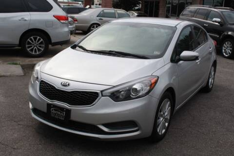 2015 Kia Forte for sale at Central 1 Auto Brokers in Virginia Beach VA