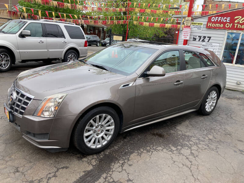 2012 Cadillac CTS for sale at RON'S AUTO SALES INC in Cicero IL
