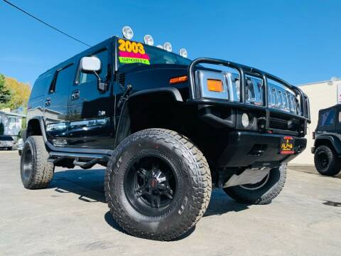2003 HUMMER H2 for sale at Alpha AutoSports in Roseville CA