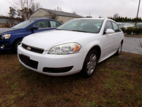 2012 Chevrolet Impala for sale at Creech Auto Sales in Garner NC