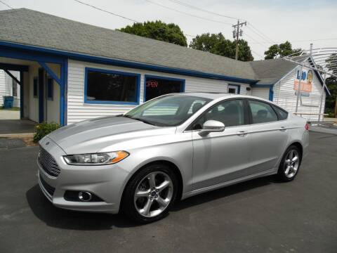 2015 Ford Fusion for sale at Leo Auto Sales in Leo IN
