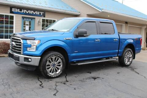 2015 Ford F-150 for sale at Summit Motorcars in Wooster OH
