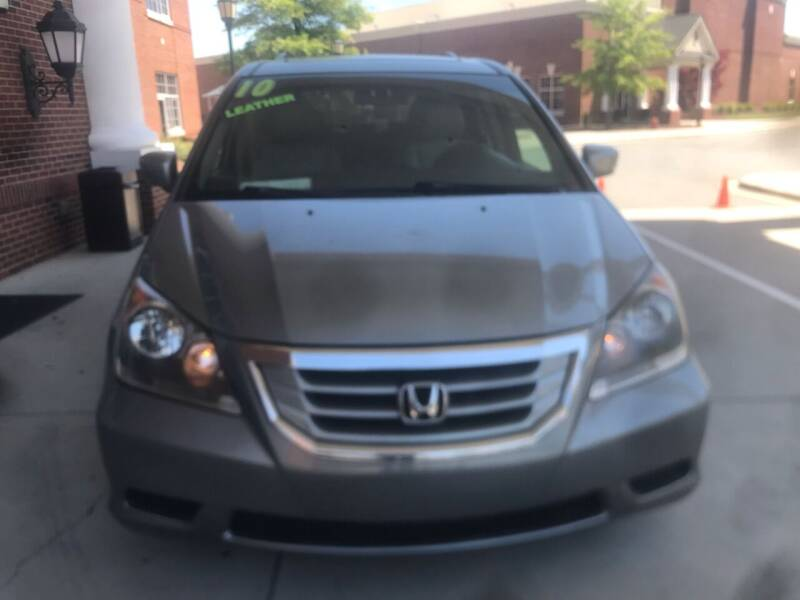 2010 Honda Odyssey for sale at Eastern Auto Sales NC in Charlotte NC