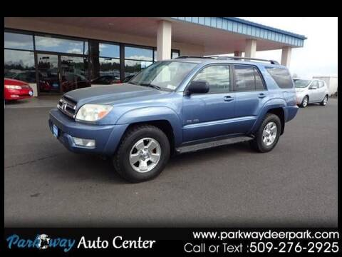 2005 Toyota 4Runner for sale at PARKWAY AUTO CENTER AND RV in Deer Park WA