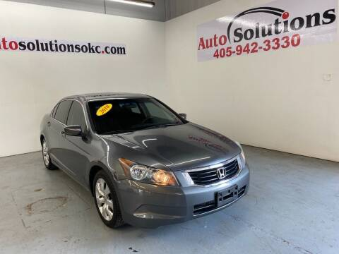 2010 Honda Accord for sale at Auto Solutions in Warr Acres OK