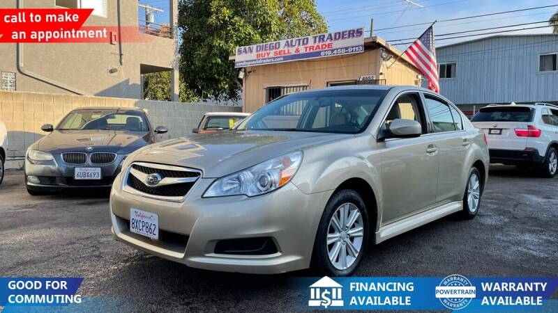 2010 Subaru Legacy for sale at San Diego Auto Traders in San Diego CA