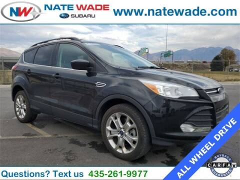 2013 Ford Escape for sale at NATE WADE SUBARU in Salt Lake City UT