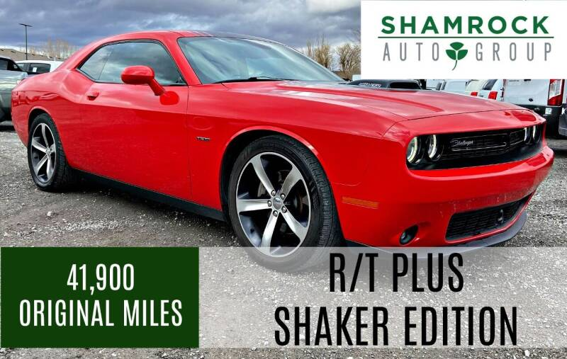 2016 Dodge Challenger for sale at Shamrock Group LLC #1 in Pleasant Grove UT