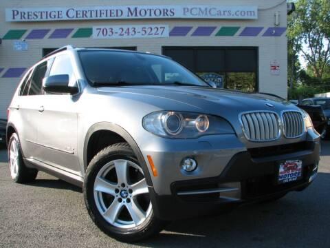 2009 BMW X5 for sale at Prestige Certified Motors in Falls Church VA
