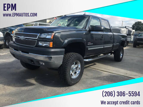 2005 Chevrolet Silverado 2500HD for sale at EPM in Auburn WA