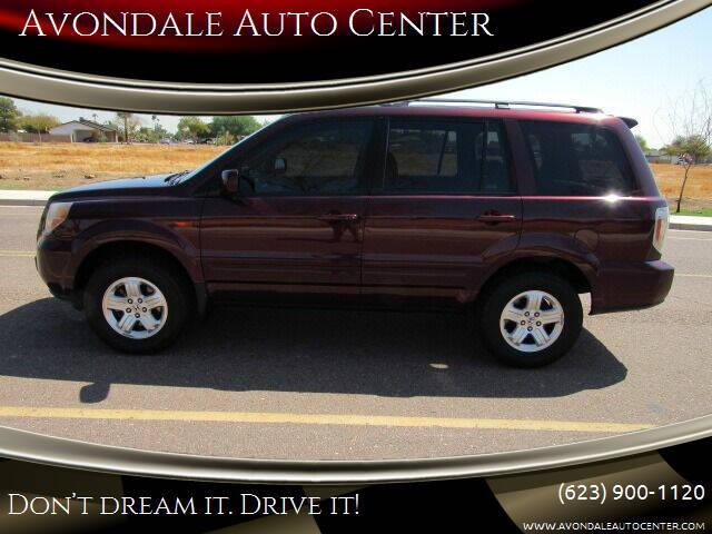 2008 Honda Pilot for sale at Avondale Auto Center in Avondale AZ