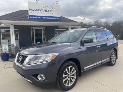 2013 Nissan Pathfinder for sale at Maryville Auto Sales in Maryville TN
