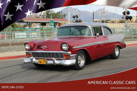 1956 Chevrolet Bel Air for sale at American Classic Cars in La Verne CA