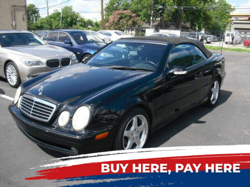 2002 Mercedes-Benz CLK for sale at German Exclusive Inc in Dallas TX