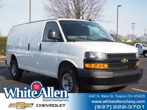 2021 Chevrolet Express Cargo for sale at WHITE-ALLEN CHEVROLET in Dayton OH