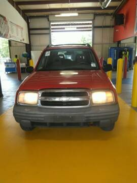 2003 Chevrolet Tracker for sale at TEXAS MOTOR CARS in Houston TX