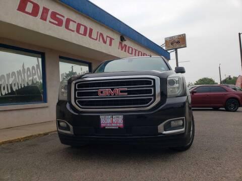 2015 GMC Yukon for sale at Discount Motors in Pueblo CO