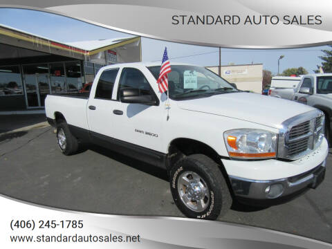 2006 Dodge Ram Pickup 3500 for sale at Standard Auto Sales in Billings MT