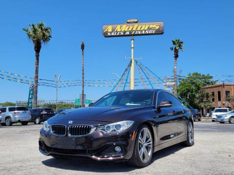2016 BMW 4 Series for sale at A MOTORS SALES AND FINANCE in San Antonio TX